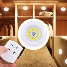 Приглушаемая Светодиодная лампа cob для кухни сенсорный ночник