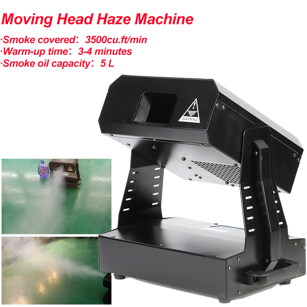 High Output 2000W Moving Head Haze Mahine Fog Machine DMX512 Hazer Machine With DMX512 For Party Bar Stage DJ Effect Equipment