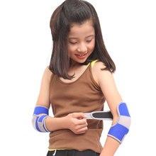 Aolikes 1 par crianças eblow apoio crianças proteção anti-gota esporte almofada de segurança protetor de cotovelo para ciclismo futebol