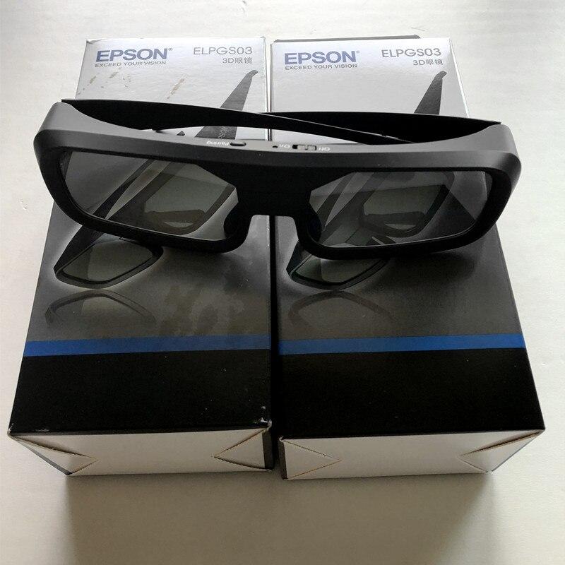 NEUE ELPGS03 bluetooth Shutter Aktive 3D gläser für Epson Home Cinema 3D Projektoren - 3