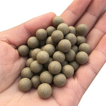 100pcs 10mm Slingshot Beads Bearing Mud Balls Safety Non-toxic Slingshot Ammo Solid Clay Balls for Outdoor Hunting Shooting 6