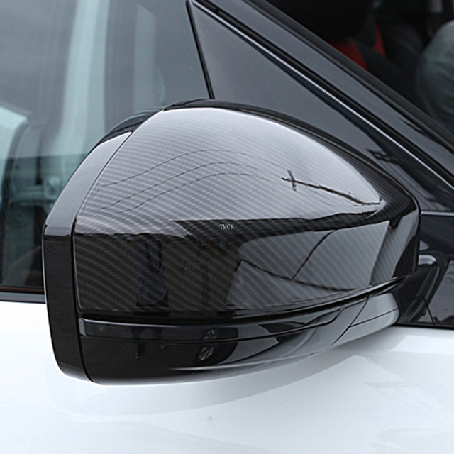 For Land Rover Discovery Sport Range Rover Evoque Velar Car Accessories Rear View Mirror Cover Caps Trim For Jaguar F-Pace X761 2