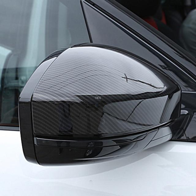 Pour Land Rover Discovery Sport Range Rover Evoque Velar accessoires de voiture rétroviseur couvercles garniture pour Jaguar f-pace X761