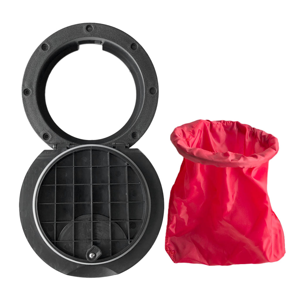 20cm Hatch Cover Deck Plate Kit With Waterproof Storage Bag For Inflatable Boat Kayak Canoe Raft