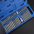 40 шт./компл. набор внутренних шестигранных звездочек Torx  набор ручных инструментов для автомобиля  набор многофункциональных комбинированн...