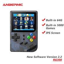 ANBERNIC-REPRODUCTOR DE videojuegos Retro RG300, 2,2 juegos integrados, 64G, regalo
