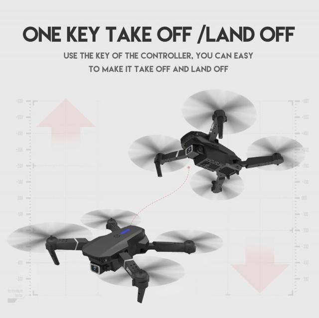 Mini Drone 4K Professional HD FPV RC Dron Quadcopter With Camera Ufo Drones Flying Toys For Boys Teens Child Drone Skimmer LSRC 3