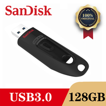 SanDisk CZ48 USB 3.0 플래시 드라이브 디스크 128GB 64GB 32GB 16GB 펜 드라이브 작은 Pendrive 메모리 스틱 저장 장치 플래시 드라이브