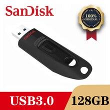 Thẻ nhớ Sandisk CZ48 USB 3.0 Ổ Đĩa 128GB 64GB 32GB 16GB Bút Nhỏ Pendrive Nhớ gậy Thiết Bị Lưu Trữ Đèn Led