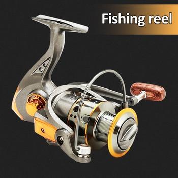 13 Bearing Balls 5.2:1 Full Metal Wire Cup Fishing Reel Fishing Reel Spinning Wheel Sea Rod Fishing Rod Wheel Fishing Gear