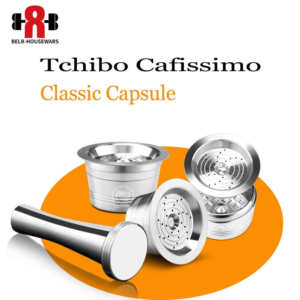 Кофейная капсула Tchibo Cafissimo, многоразовая кофейная капсула, фильтр для кофе K-fee, Pod, чашка из нержавеющей стали, ALDI Expressi, кофейник, тампер, 3 шт./л...