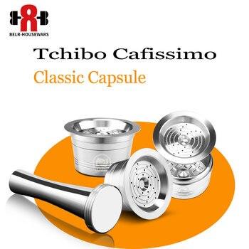 Tchibo Cafissimo-cápsula de café reutilizable k-fee, cápsula de filtro de café, taza...