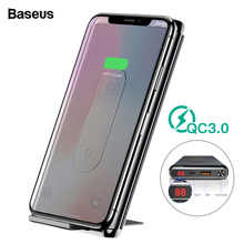 Baseus 10000mAh Qi Wireless Charger Power Bank Quick Charge