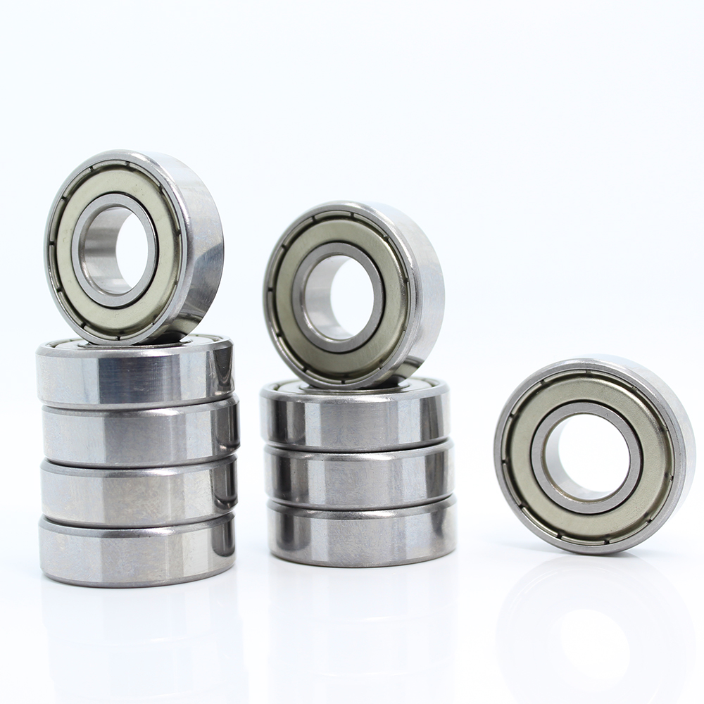 5pcs Metal Shielded Thin Wall Bearings Ball Bearings 682ZZ 2x5x2.3mm