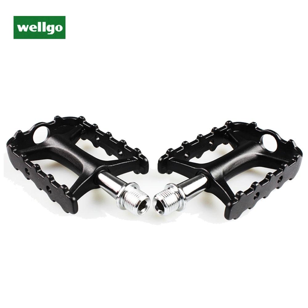 Wellgo Ultralight Bike Pedals Sealed Bearing Platform BMX MTB Bicycle Pedals