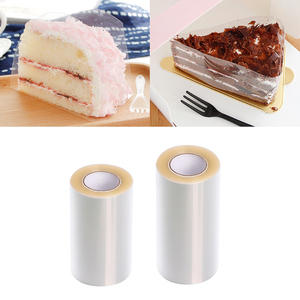Transparent Practical Mousse Cake Edge Wrap Dessert Surrounding Hard Bound Cake Edges Plastic Band DIY Baking Packaging Tools
