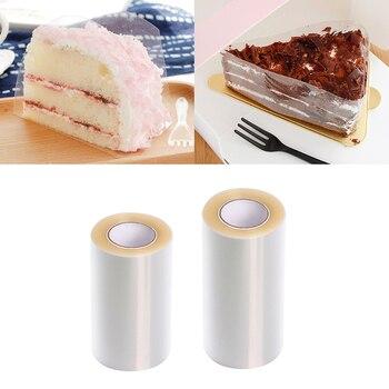 Transparent Practical Mousse Cake Edge Wrap Dessert Surrounding Hard Bound Edges Plastic Band DIY Baking Packaging Tools