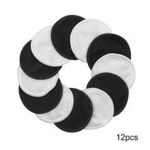 Zero Waste Toner Facial Wipes Organic Cotton Rounds for Sensitive Skin Makeup Up Remover Pad Reusable Bamboo Fiber Pads