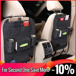 Car Interior Supplies Seat Back Storage Bag Seat Back Storage Bag Multi-function Car Storage Bag Felt Hanging Bag