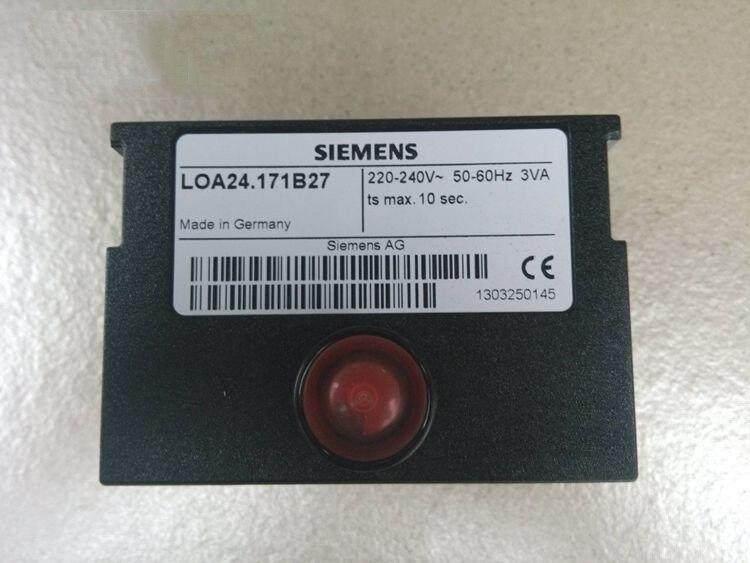 NEW LOA24.171B27 Mechanical Control Box Burner Sequencer PLC Control Box For Oil Burner Replace SIEMENS/SUDICK LOA24.171B27 5.0