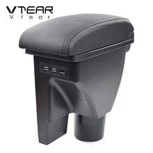 Vtear For Hyundai Getz Armrest Interior Center Console Storage Box Arm Rest Car styling Decoration Accessories Parts Organizer