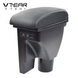 Vtear For Hyundai Getz Armrest Interior Center Console Storage Box Arm Rest Car-styling Decoration Accessories Parts Organizer