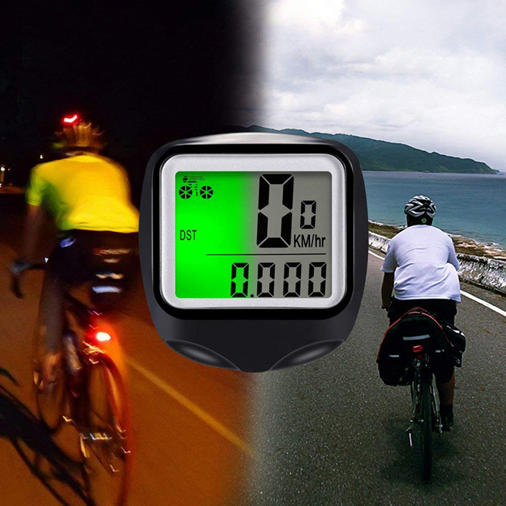 Bicycle Speedometer <font><b>Bike</b></font> Cycle Computer Wireless Cycling Computer Bicycle Speed <font><b>Bike</b></font> <font><b>Power</b></font> <font><b>Meter</b></font> Cyclocomputer image