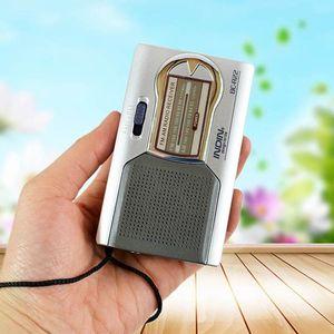 AM/FM Pocket Radio Receiver Wo