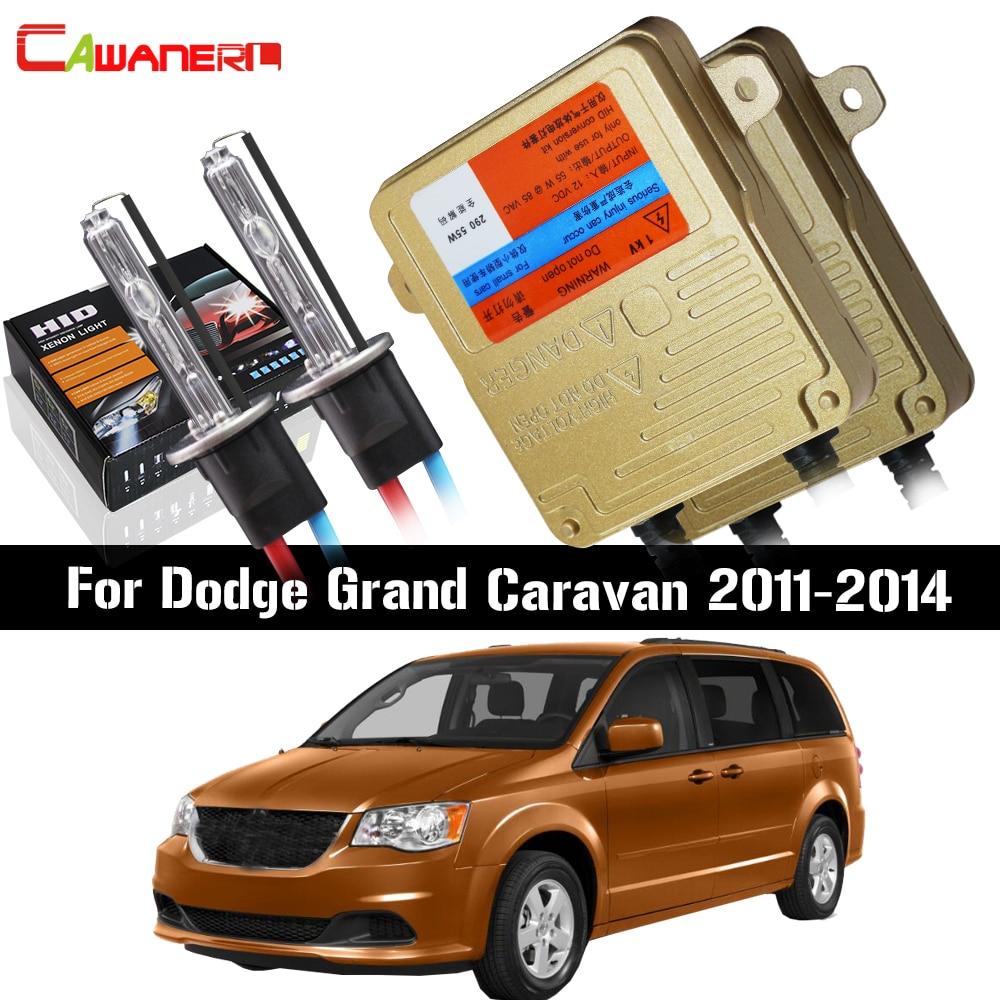 Автомобильная балластная лампа Cawanerl 55 Вт, Canbus, без ошибок, ксеноновая Автомобильная фара переменный ток, ближний свет, подходит для Dodge Grand ...