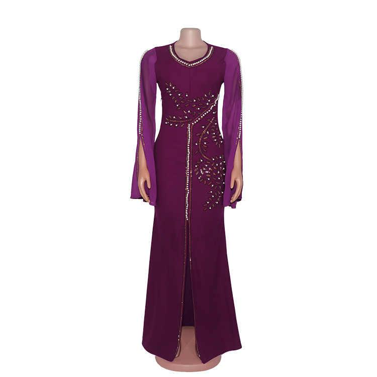 Sukienki afrykańskie dla damska suknia Africaine 2020 ubranie afrykańskie Dashiki modne tkaniny długa, maksi sukienka odzież z afryki