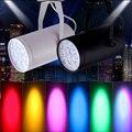 2 stuks RGB/Blauw/Rood/Wit/Groen/Geel LED Beam Spotlight Stage Light Mini 3W voor DJ Disco Bar KTV Party Podium Verlichting Effect