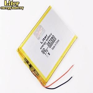 Image 1 - 357090 TX52 TZ41 TZ42 TZ43 TZ46 TZ45 TZ53 TZ70 TZ72 TZ736 TX01 TZ02 TZ01 tablet bataryası iç 4000mah 3.7V polimer li ion