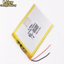 TX52 Batería de polímero de litio 357090 mah, 4000 V, TZ41, TZ42, TZ43, TZ46, TZ45, TZ53, TZ70, TZ72, TZ736, TX01, TZ02, TZ01, 3,7