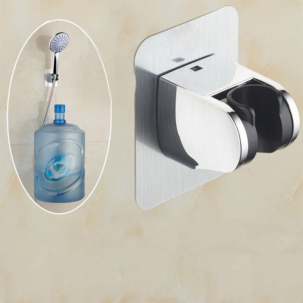 Wall Mounted Handle Rotatable Adjustable Sprinkler Shower Hose Head Holder Stand Bracket Base