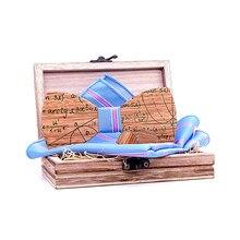 Wooden Geometric equation Bow Tie set and Handkerchief Bowti