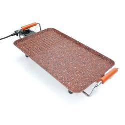 Grill elektryczny TEPPANYAKI 40X23CM TEKNO kucharz COOPER & GRANIT kamień w Elektryczne grille i płyty od AGD na