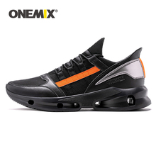 цены на ONEMIX Trail Running Shoes For Men 2019 Fashion Technology Trend Sneakers Outdoor Boy Athletic Trainers Men Tennis Walking Shoe  в интернет-магазинах