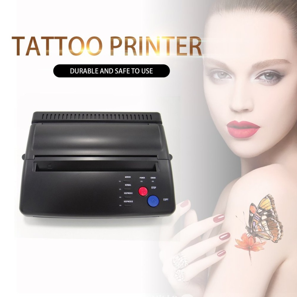 Estilo profissional fabricante de estêncil tatuagem transferência