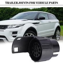 Durable 13 To 7 Pin Trailer Adapter Trailer Wiring Caravan Remolque Truck Connector Car R7B5 12V Trailer Plug Accessories S W8R9