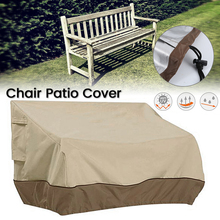 Garden Outdoor Patio Furniture Waterproof Cover Case Dust-proof Furniture Chair Sofa Covers UV Sun Protective Chair Patio Cover cheap Modern 213*213*74CM Cloth waterproof cover garden Outdoor Chair Patio Cover Case Outdoor Chair Patio ust cover 210D waterproof silver coated oxford cloth