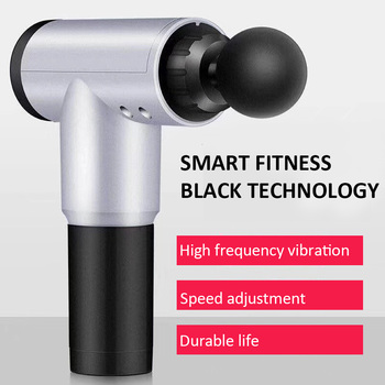 Electric Muscle Massage Gun Deep Muscle Fascia Tissue Massager Therapy Gun Exercising Muscle Pain Relief Body Shaping Relaxation