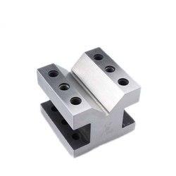 """Precyzyjne bloki i narzędzia zaciskowe """"V"""" zestaw bloków V zestaw roboczy 60*60*50mm najwyższa jakość w Akcesoria do elektronarzędzi od Narzędzia na"""