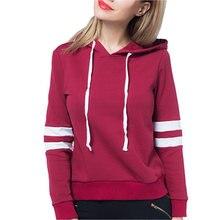 Женский пуловер с капюшоном простая толстовка тонкая кулиской