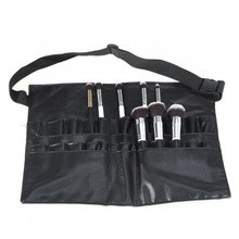 Makeup brush bag big waist bag black professional makeup tools factory direct sales a large number of stock a1 5 brand new 10 a type factory direct sales a large quantity favorably centre drill