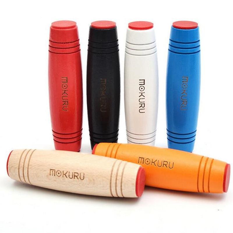 New  Mokuru Stick Rollver Desktop Flip Toys Relieve Stress Improve Focus Great For Stress Christmas Gift For Children