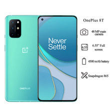 OnePlus 8T 5G Handy 6,55 Inch Snapdragon 865 OctaCore 16MP Vordere Kamera 4500mAh 8GB RAM 128GB ROM Smartphone