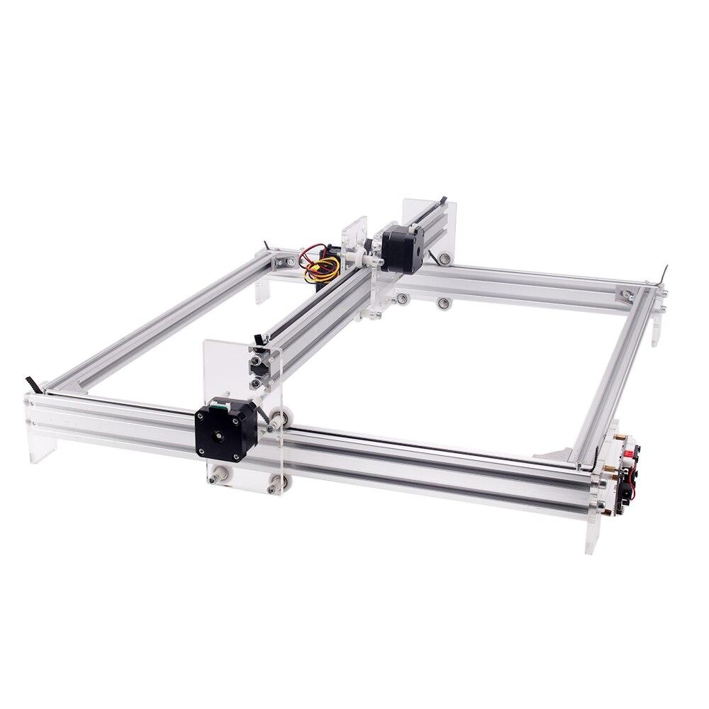 500*400 мм GRBL 1.1f CNC лазерный гравер 40 Вт машина для резьбы по дереву 12V 5A 2-осный лазер резки печати с гравировкой для прижигания CNC6550