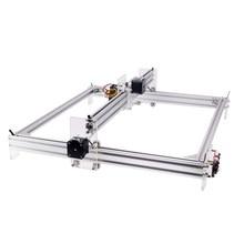 500*400mm GRBL 1.1f CNC graveur Laser 40W Machine de gravure sur bois 12V 5A 2 axes découpe Laser impression gravé cautérisation CNC 6550