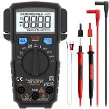 مقياس الفولتميتر الرقمي BSIDE مقياس الجهد الحقيقي RMS Auto Range السعة درجة الحرارة NCV هرتز أوم اختبار مقياس التيار الكهربائي أداة المهنية