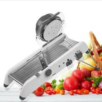 Stainless Steel Manual Vegetable Fruit Potato Cutter Chopper Kitchen Tools Gadgets Kitchen Accessories